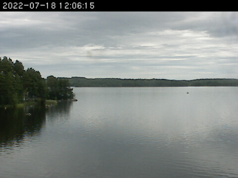 Falun Live Cam, Sweden – View of the lake Runn